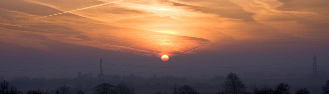 Sunrise. Image by Drew Perry, CC. flickr.com/photos/drewlx