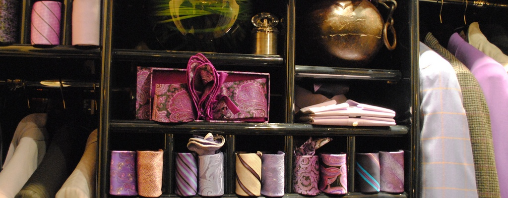 Tidy Closet - image by Deidre Woollard, CC https://www.flickr.com/photos/deidrew