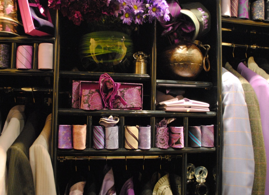 Tidy Closet - image by Deidre Woollard, CC https://www.flickr.com/photos/deidrew
