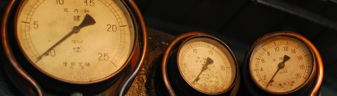 Gauges, photo by Adam Kent, CC (Flickr)